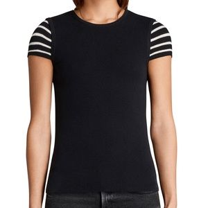 AllSaints Anya Striped Top